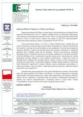 List Gotowość firmy (Covid-19)